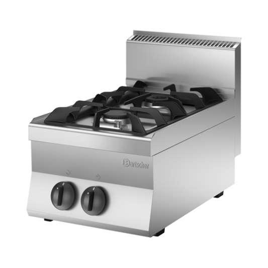 Bartscher Gasherd 650 Snack 400x650 - Tischgerät