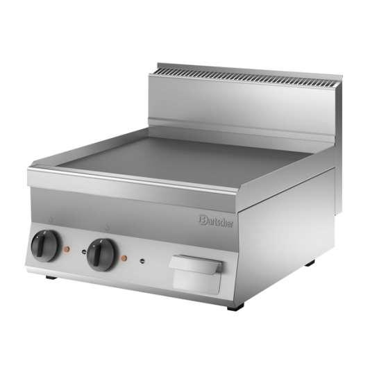 Bartscher Elektro-Grillplatte 650 Snack glatt 600