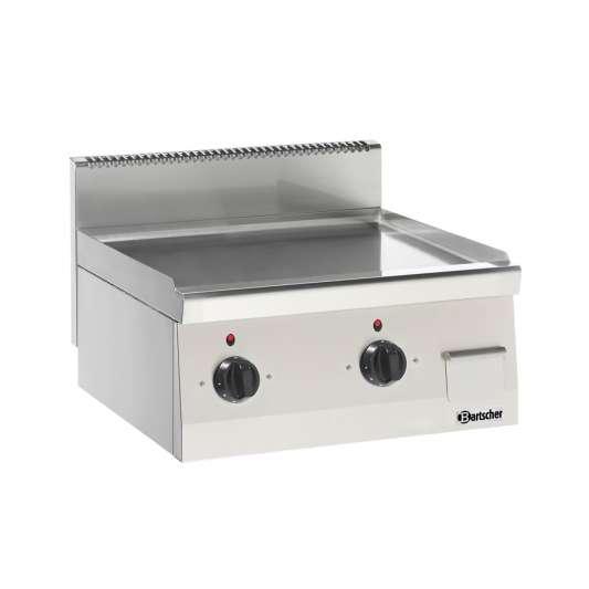 Bartscher Elektro-Grillplatte 600 Imbiss glatt 600x600 | Kochtechnik/Grillplatten/Elektro-Grillplatten