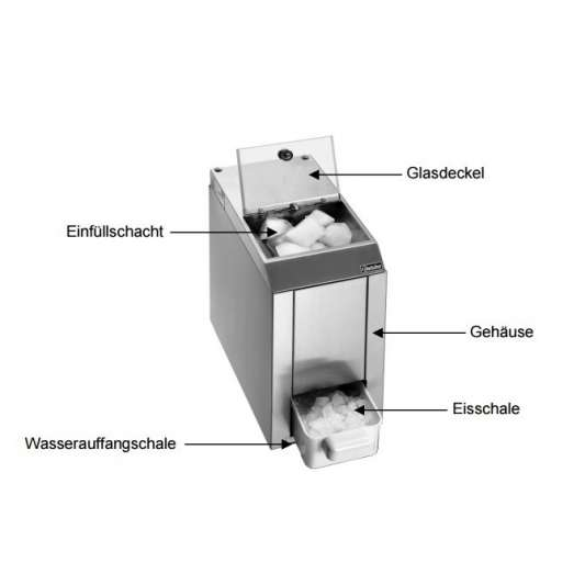 Bartscher Eiscrusher 60kg