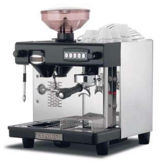 Espressomaschine Office Control mit 1 Brühgruppe mit Mühle INOX EX 239