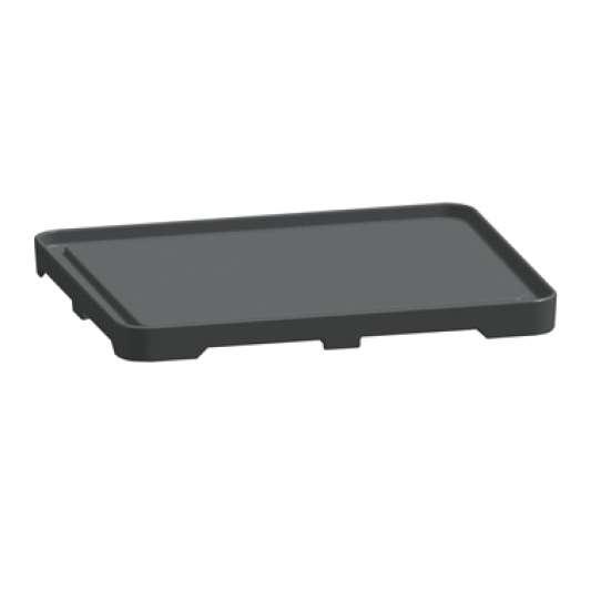 Brat- und Fortkochplatte 700 Classic über 2 Kochstellen Gusseisen glatt, mit Saftrinne | Kochtechnik/Zubehör