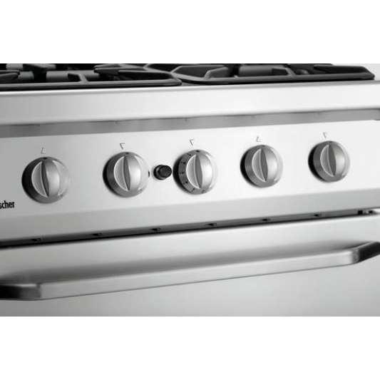 4 Flammen Gasherd 700 Classic mit Gasbackofen