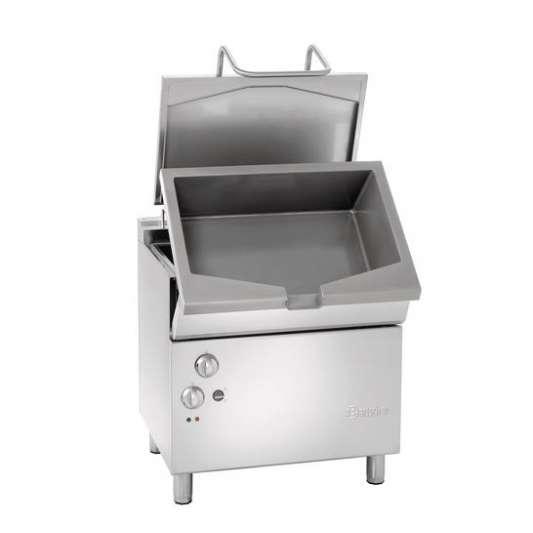 Bartscher Elektro-Kippbratpfanne Profi 700 mit elektromotorischer Kippvorrichtung | Kochtechnik/Kippbratpfanne/Elektro-Kippbratpfannen
