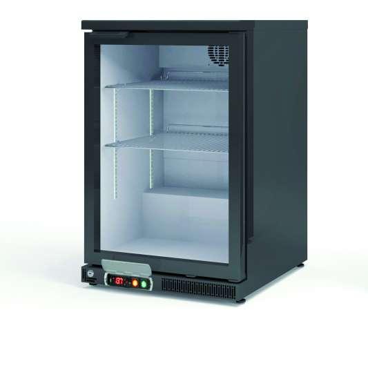 Barkühlschrank Profi 130 Liter schwarz