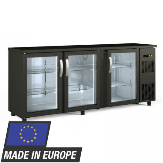 Barkühltisch PROFI 3/0 - mit Glastüren | Kühltechnik/Kühltische/Barkühltische