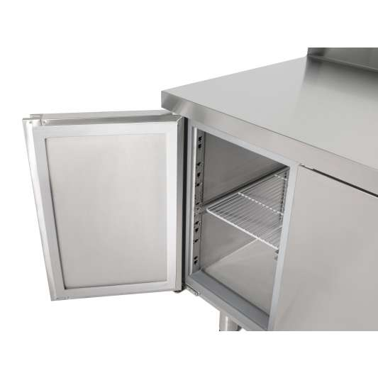 Kühltisch Profi 2/2 mit Aufkantung - GN 1/1