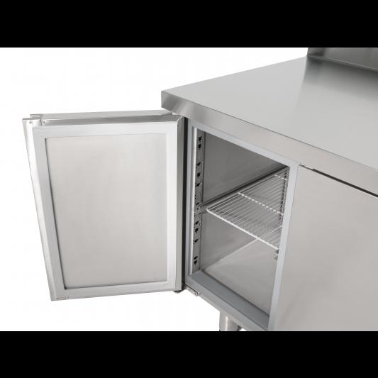 Kühltisch Profi 600 2/0 mit Aufkantung | Kühltechnik/Kühltische/Gastro-Kühltische/Gastro-Kühltische 600