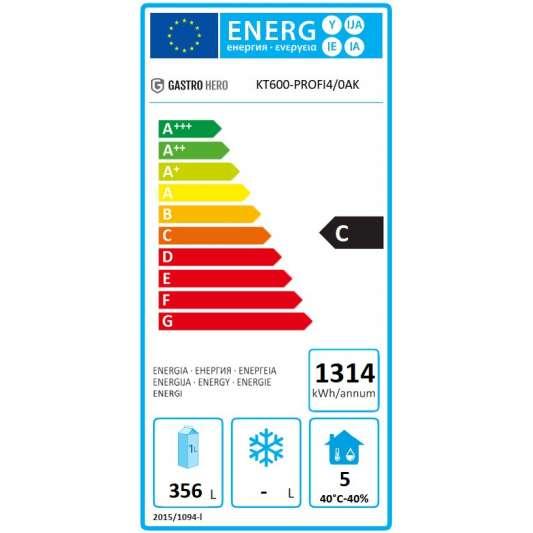 Kühltisch Profi 600 4/0 mit Aufkantung | Kühltechnik/Kühltische/Gastro-Kühltische/Gastro-Kühltische 600