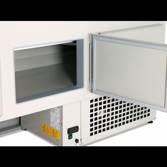 Kühltheke Profi 150 - rundes Frontglas