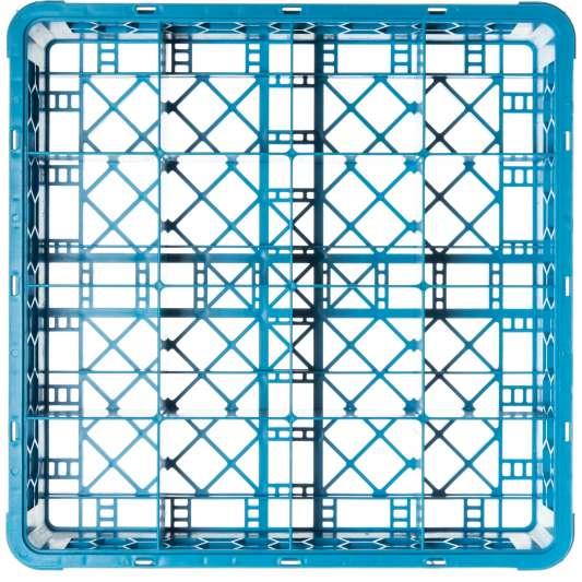 Gläserkorb 500x500 mm mit 36 Fächern