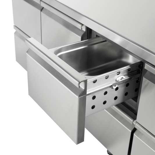 Coreco Tiefkühltisch Premium 0/4 mit Aufkantung