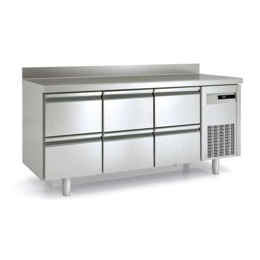Tiefkühltisch Premium 0/6 mit Aufkantung   Kühltechnik/Kühltische/Tiefkühltische