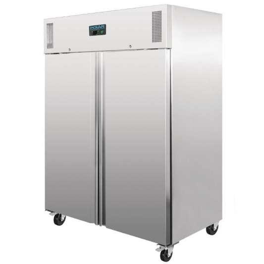 Polar Edelstahl-Kühlschrank 1300 Liter