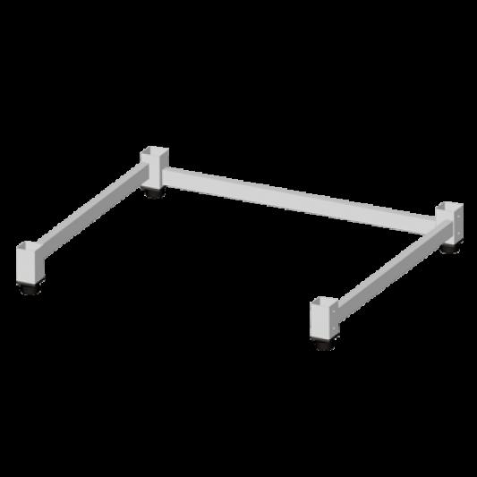 Untergestell niedrig für MAXI.LINK Kombidämpfer - 2 Geräte übereinander