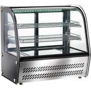 Kühlvitrine Snack VPR 100 100 Liter Kühlvitrine Snack mit Grundboden und 2 Rosten Temperaturbereich: +2°C bis +8°C Maße (BxTxH): 705 x 460 x 670 mm