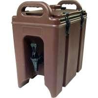Getränke-Thermobehälter, braun - 7 Liter