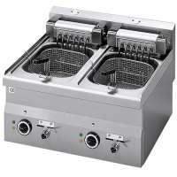 Elektro-Fritteuse 60/60 FRE - 10 + 10 Liter