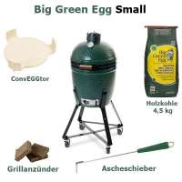 Big Green Egg Grill Small EGG Komplett Paket
