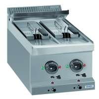 Elektrofritteuse Dexion Serie 77 - 40/70 6+6 Liter - Tischgerät