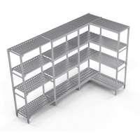 Kühlzellenregal Profi Kit 1, 1190/650 x 400 x 1670 mm, 4 Böden | Kühltechnik/Kühlzellen & Aggregate/Regale