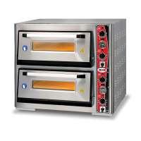 GMG Pizzaofen Classic 4 + 4x30cm mit Thermometer | Kochtechnik/Pizzaöfen/Doppelkammer-Pizzaöfen