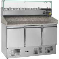Pizzatisch PT 1365 mit Kühlaufsatz