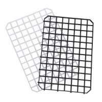 Gläserabstellmatte schwarz, Länge 31,5 cm, Breite 21 cm, Höhe 0,8 cm