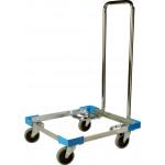 Transporthilfe Aluminium mit Griff für Spülkörbe 500x500