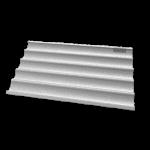 UNOX Backblech Baguette Aluminium