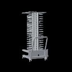 UNOX Hordengestellwagen für Teller XCP 1001